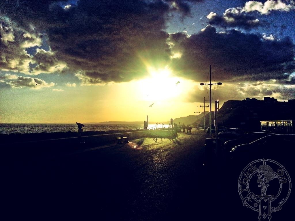 West Bay Sunset (Broadchurch)