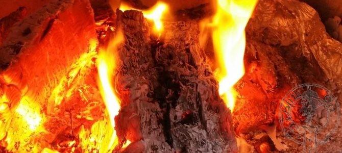 Build a man a fire…