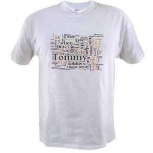 Rudyard Kiplings Tommy t-shirt